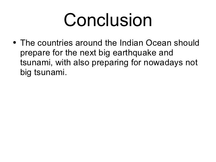 the tsunami warning system in n oceam