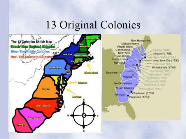 Ga History Chap - Georgia map 13 colonies