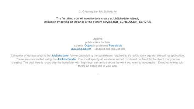 Gaad01 job scheduler