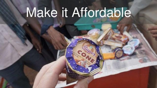 Make it Affordable