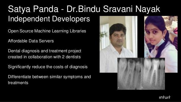 Satya Panda - Dr.Bindu Sravani Nayak Independent Developers Open Source Machine Learning Libraries Affordable Data Servers...