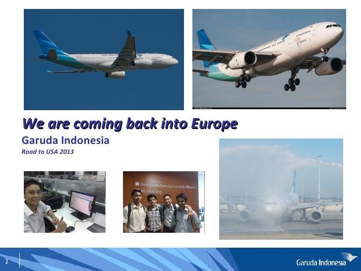 Garuda Indonesia (GA88) Slide 2