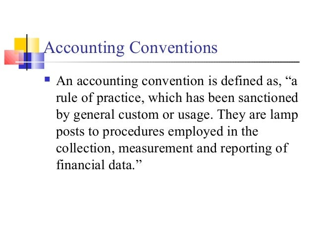 conservatism accounting definition