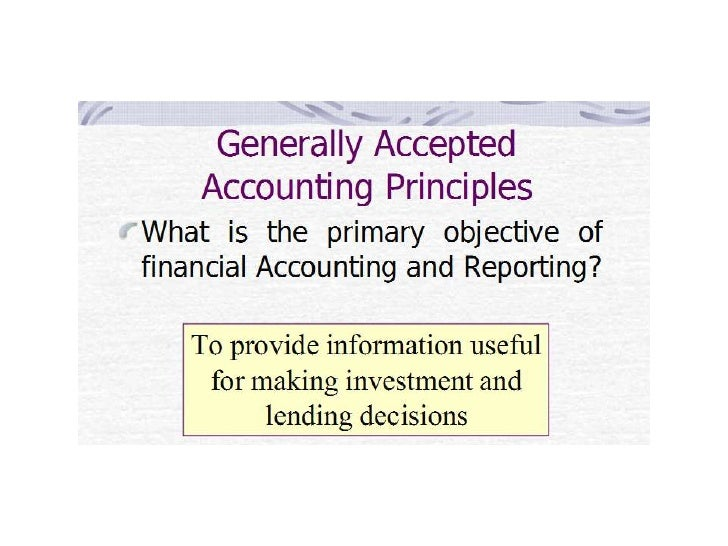 the importance of accounting principles Health care accounting is challenging  generally accepted accounting principles  finance and business are willing to base important decisions on.