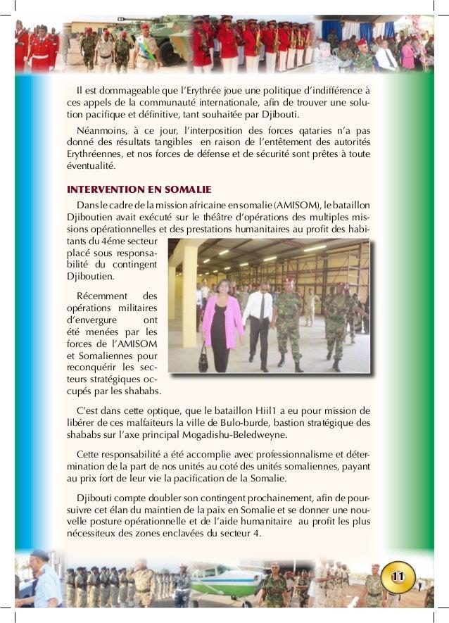 11 Il est dommageable que l'Erythrée joue une politique d'indifférence à ces appels de la communauté internationale, afin ...