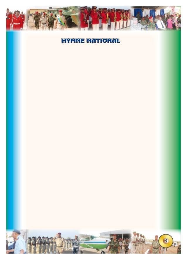 3 HYMNE NATIONALHYMNE NATIONAL Heesta calanka Hinjinnee u sara kacaa Calankaad harraad iyo Haydaar u mudateen (bis) Haydaa...