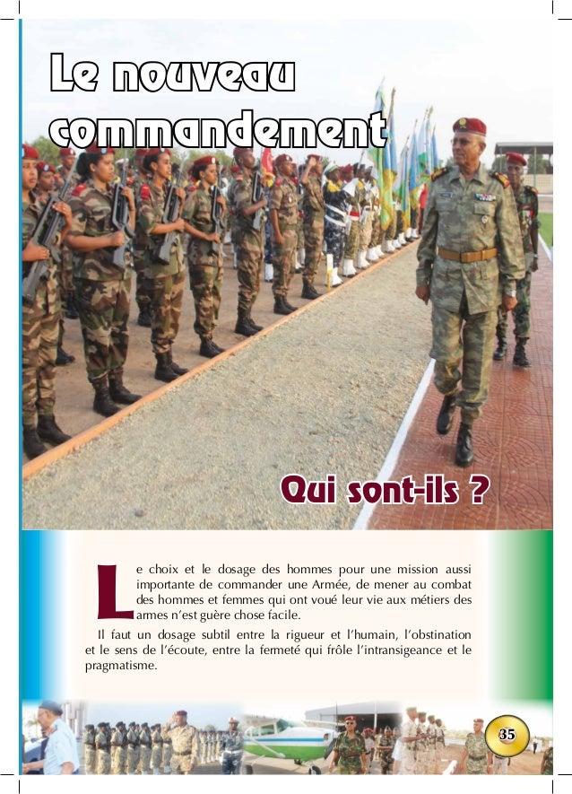 35 L e choix et le dosage des hommes pour une mission aussi importante de commander une Armée, de mener au combat des homm...