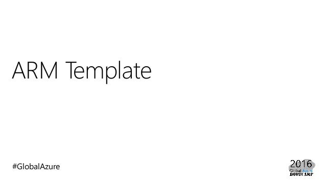 chef template variables - azure resource manager arm template beginner 39 s guide