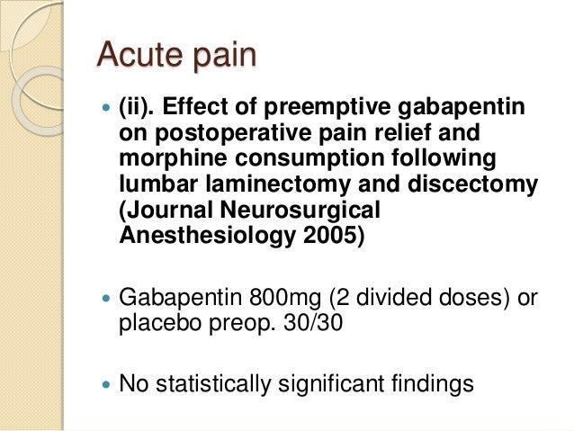 Gabapentin Presentation