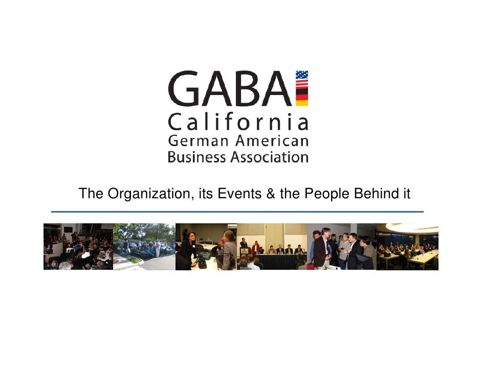 The Organization, its Events & the People Behind it