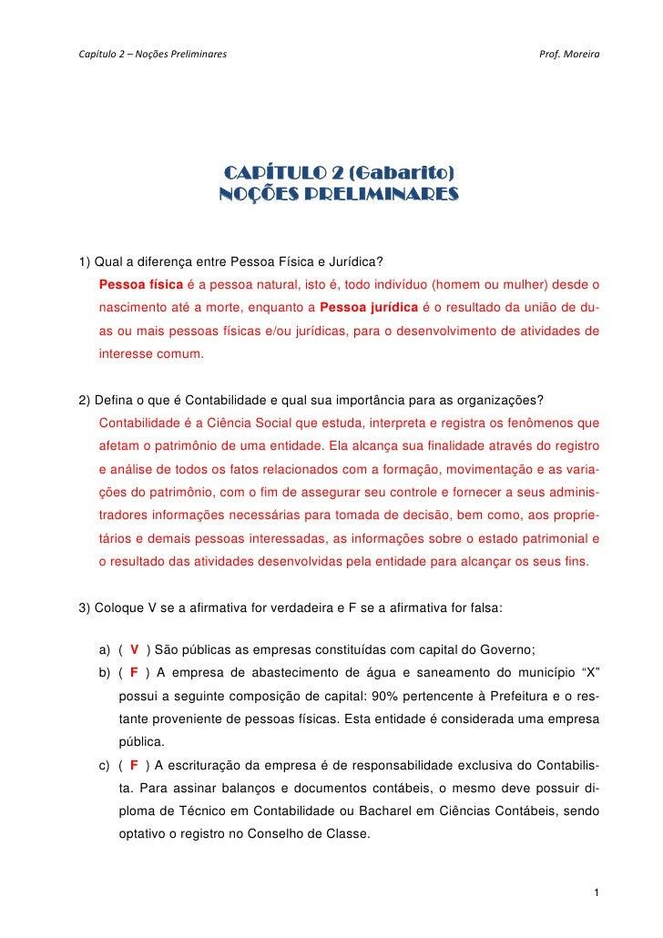 Capítulo2–NoçõesPreliminares                                            Prof.Moreira                              C...
