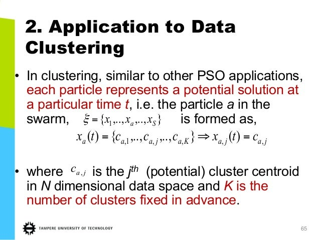 Machine Learning Tools and Particle Swarm Optimization for
