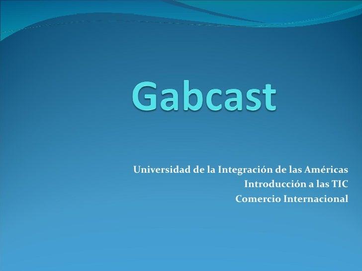 Universidad de la Integración de las Américas                       Introducción a las TIC                      Comercio I...