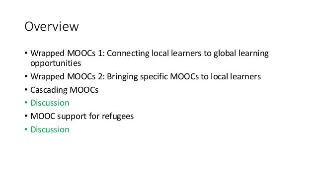 Facilitated MOOC support – closed bubbles in a sea of openness by Gabi Witthaus (University of Birmingham) Slide 2