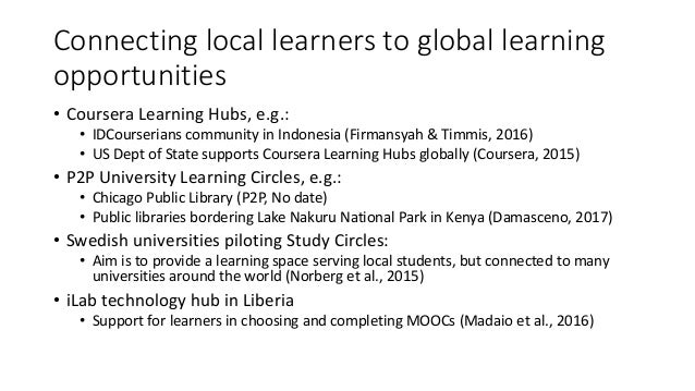 Facilitated MOOC support – closed bubbles in a sea of openness by Gabi Witthaus (University of Birmingham) Slide 3