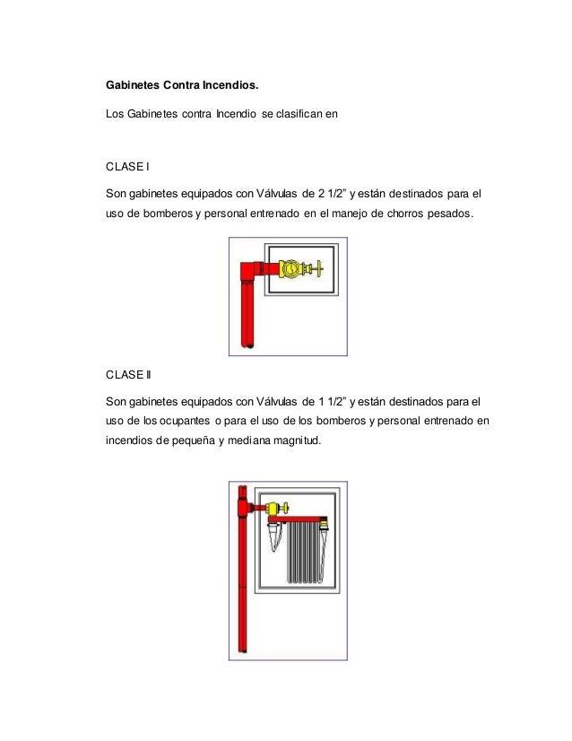 Gabinetes contra incendios for Medidas contra incendios