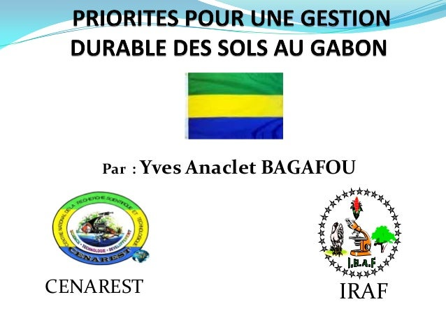 Par : Yves Anaclet BAGAFOU CENAREST IRAF