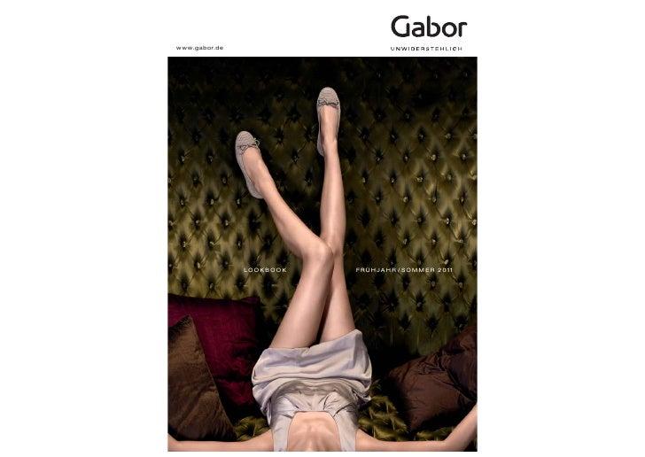 www.gabor.de               LOOKBOOK   FRÜHJAHR / SOMMER 2011