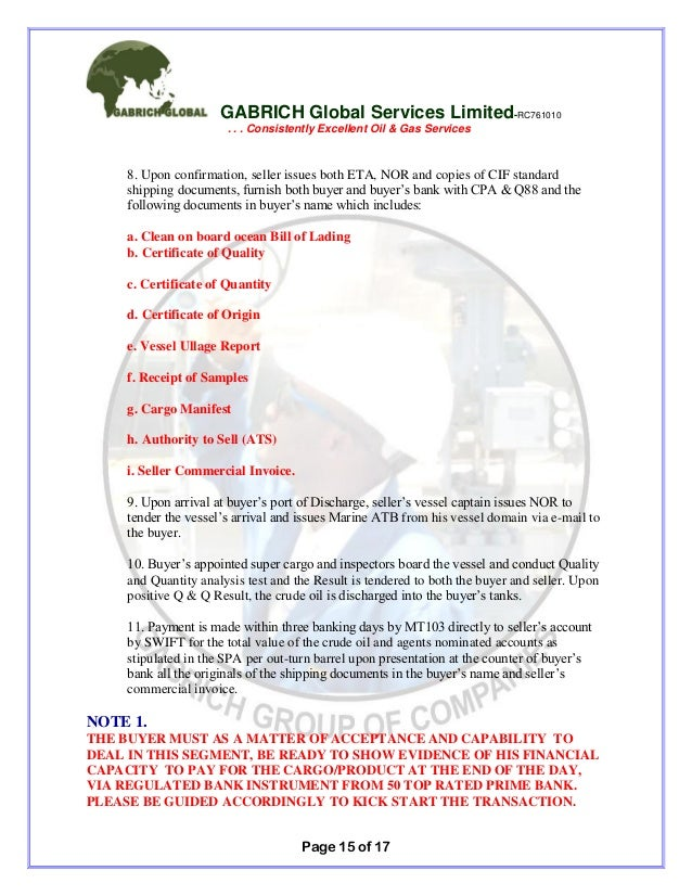 Gabrich full corporate_offer_july_to_sept_2015