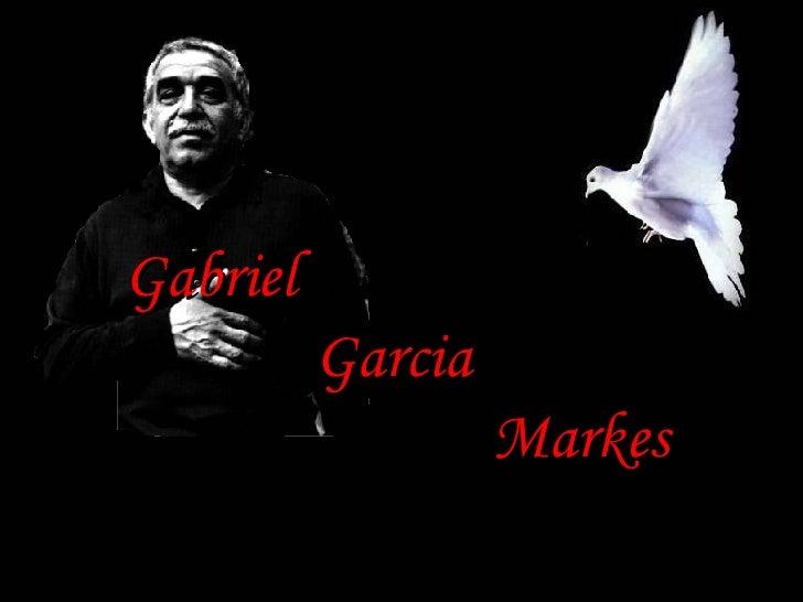 Gabriel  Garcia  Markes