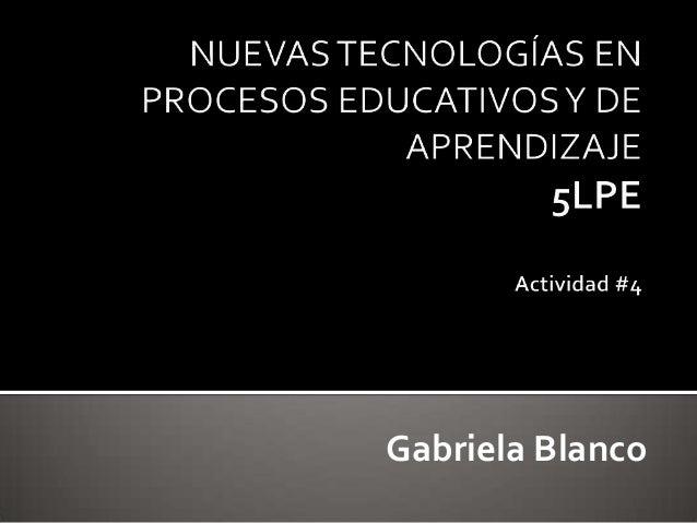 Gabriela Blanco