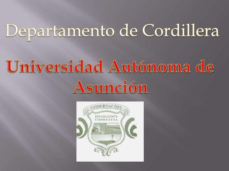 A principios del siglo XX en el año 1906 se dividió el territorio pordepartamentos. Así se creo el departamento de Caragua...