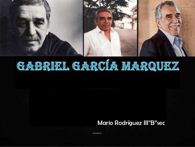"Mario Rodríguez III""B""sec"