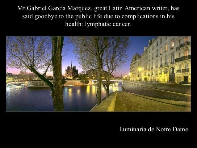 Gabriel Garcia Marquez Final Farewell