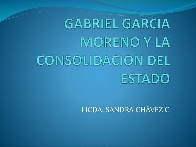 LICDA. SANDRA CHÁVEZ C