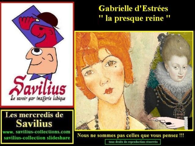 Gabrielle d'Estrées la presque reine