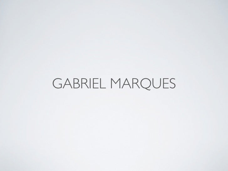 GABRIEL MARQUES
