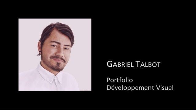 Gabriel talbot Portfolio