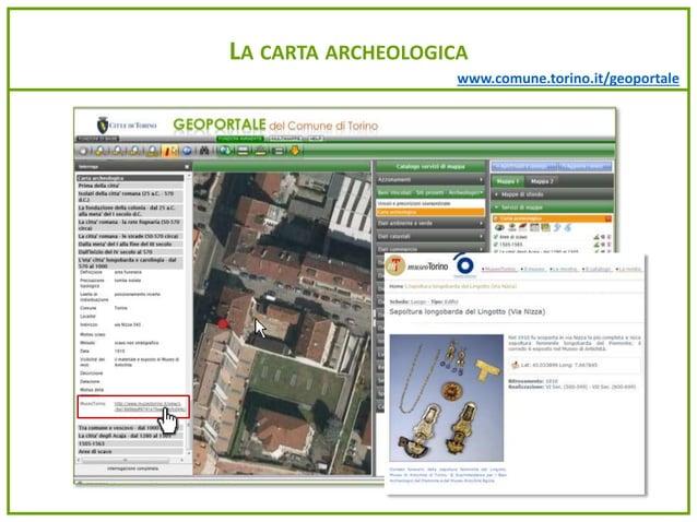 www.comune.torino.it/geoportale LA CARTA ARCHEOLOGICA