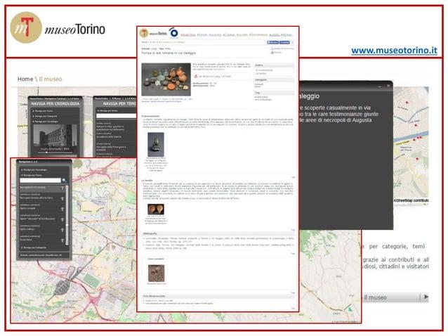 www.museotorino.it CERCARE DALLA MAPPA