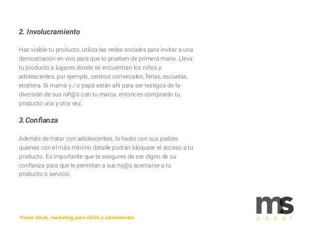2. Involucramiento Haz visible tu producto, utiliza las redes sociales para invitar a una demostración en vivo para que lo...