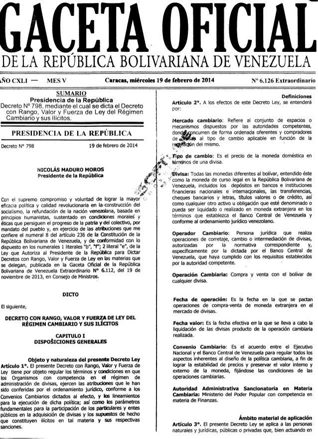 Gaceta No. 6.126