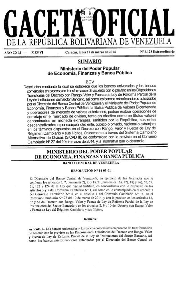 Gaceta No. 6.128