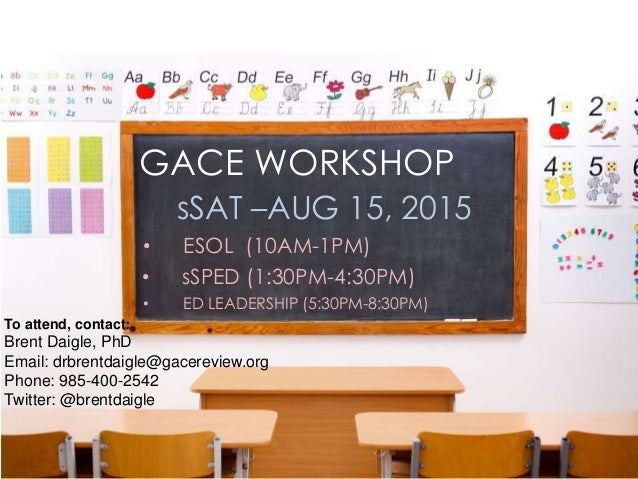 GACE ESOL Test Review – Help your Exam Score