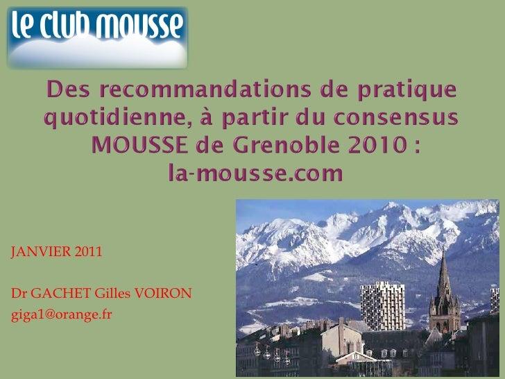 Gachet mousse 2011