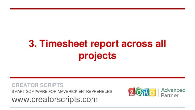 5 zoho projects features for timesheet domination