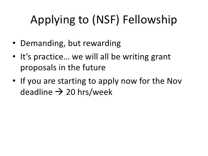 nsf graduate fellowship previous research essay Real scholarship essay examples from students including national science foundation graduate research fellowship essay example - personal statement.