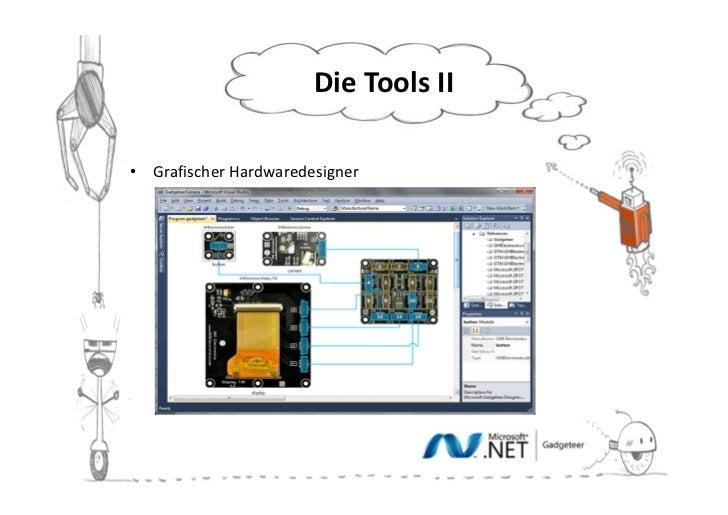 Die Tools II• Grafischer Hardwaredesigner