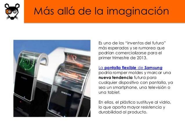 """Más allá de la imaginación            Es uno de los """"inventos del futuro""""            más esperados y se rumorea que       ..."""
