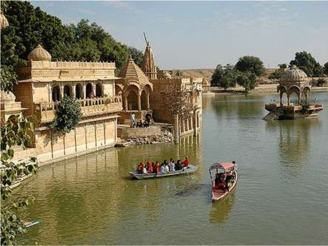 Gadisar lake images by chetram voyages