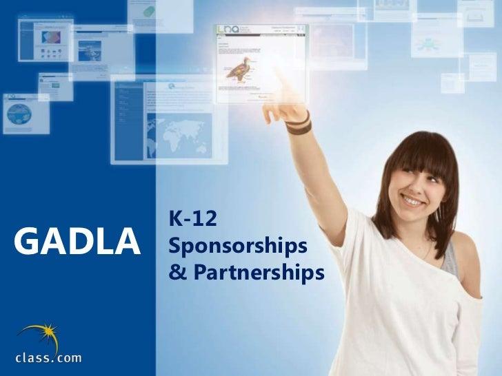 GADLA<br />K-12 <br />Sponsorships <br />& Partnerships<br />