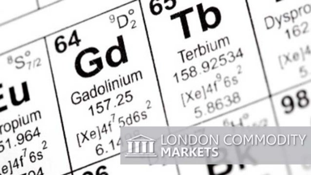 Rare earth element Gadolinium