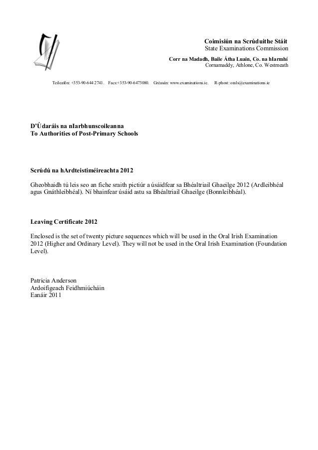 Coimisiún na Scrúduithe Stáit State Examinations Commission Corr na Madadh, Baile Átha Luain, Co. na hIarmhí Cornamaddy, A...