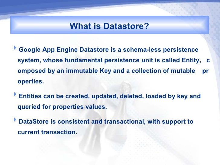 Introduction to Datastore
