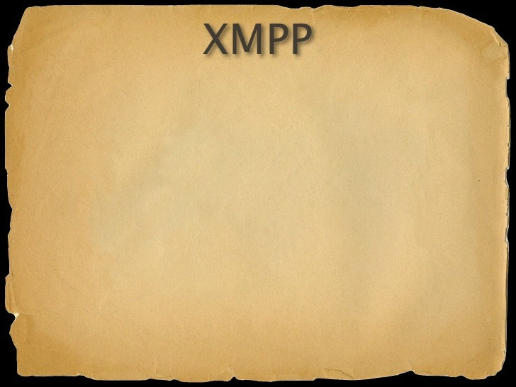 XMPP  User notification XML payloads for distributed communication Send messages with a Groovier API