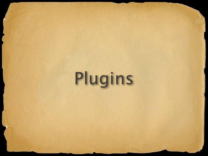 Plugins Analogous to Grails plugins Mini Gaelyk apps